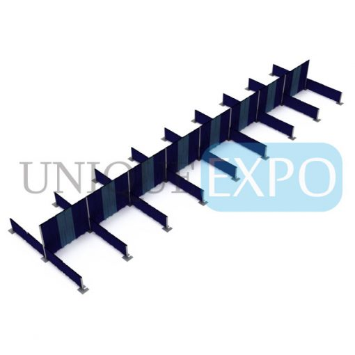 16 Booth Pipe and Drape Center Kit