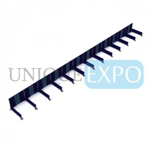 12 Booth Pipe and Drape Wall Kit