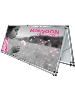 Outdoor Expo Stands : Outdoor banner stands tear drop banners
