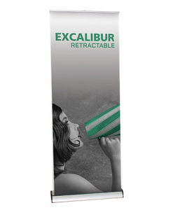 excalibur retractable banner stand
