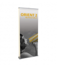 orient2-920 retractable banner stand double sided