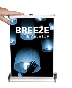 breeze retractable tabletop stand