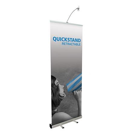 quickstand banner stand