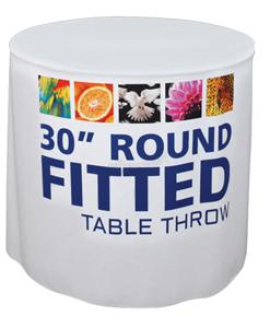 30 Round Table Throw