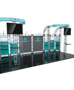 Cepheus 2 Truss System for Staging and Lighting Displays - 10 x 20 Space