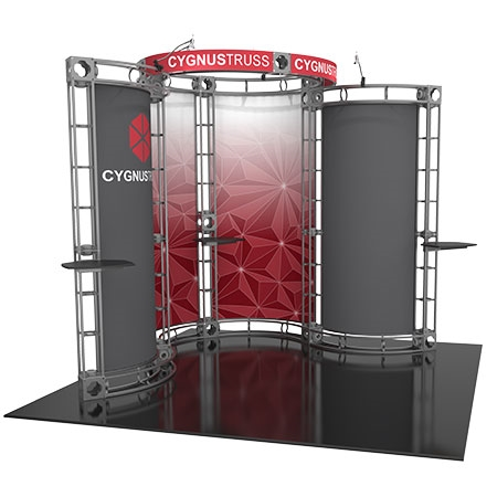 Cygnus Truss System - 10 x 10 Staging and Lighting Display