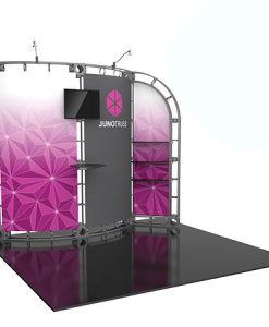 Clio Truss System - 10 x 10 Staging Display
