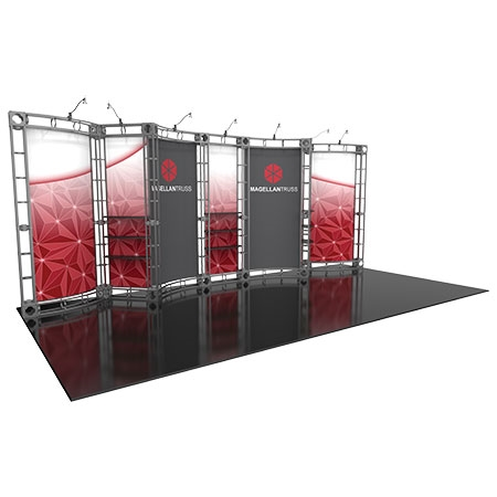 Magellan Truss System for Staging and Lighting Displays - 10 x 20 Size