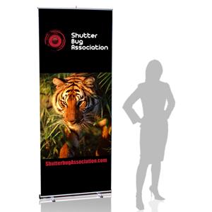 MediaScreen 1 Retractable Banner Stands