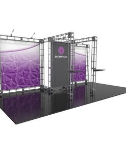 Saturn Truss System for Staging and Lighting Displays - Fits a Space Size 10' x 20'