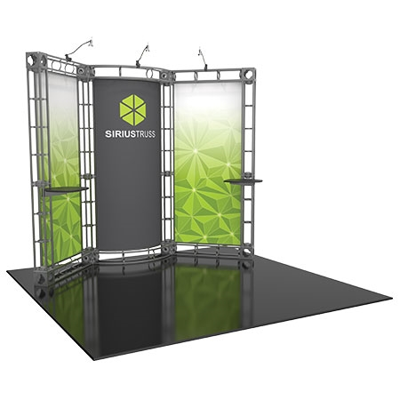 Sirius Truss System - 10 x 10 Staging and Lighting Display