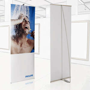 Spennare Banner Stand S10 Stand Alone
