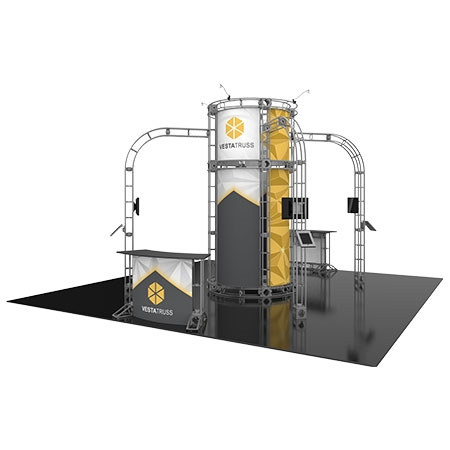 Vesta Truss System for Staging and Lighting Displays - 20 x 20