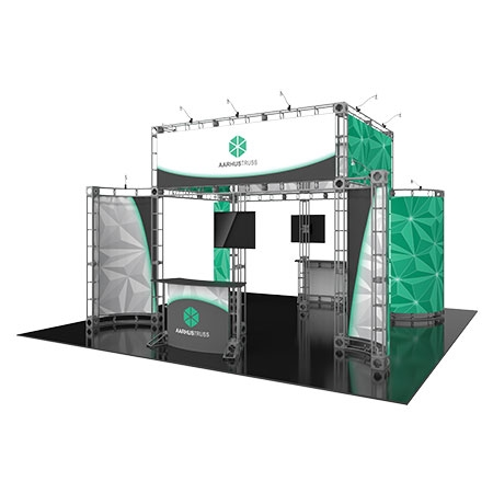 Aarhus Trust system for Staging and Lighitng Displays - Fits 20 x 20 Spaces