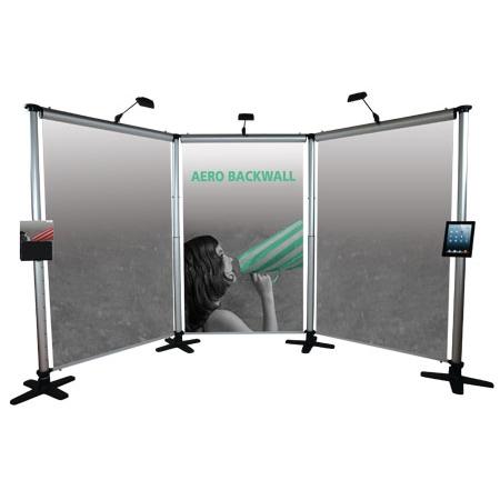 aero banner stand