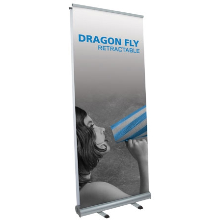 dragonfly retractable banner stand