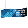 S-Curve Hanging Display for Trade Shows and Exhibits