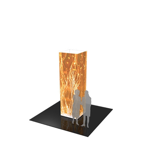 Four Sided Cylinder Display - 10 Ft.