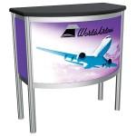 Vector Counter Frame 05 Custom Trade Show Counter Display