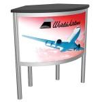 Vector Counter Frame 06 Custom Trade Show Counter Display