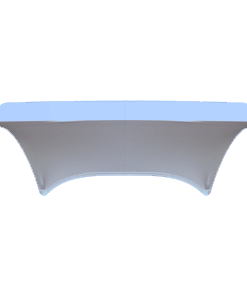 Stretch Fabric Buffet Table Covers - Light Blue