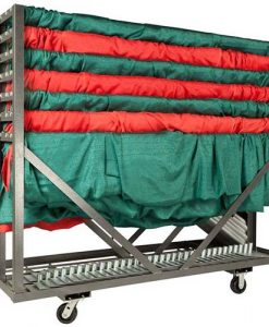 Pipe and Drape Storage Cart - Party Cart Combination Transportation Cart